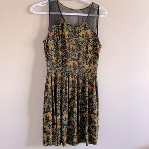 Beautiful Print - Aritzia Dress!